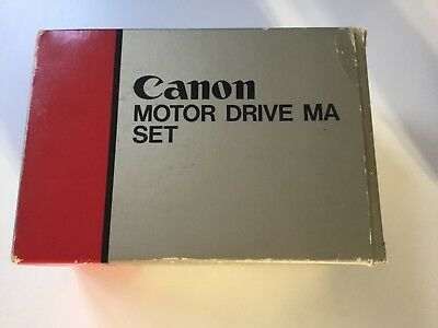 Canon Ma Motor Drive Set For A-1 & Ae-1 Program .boxed With Instructions