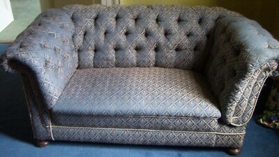 Victorian Drop End Sofa - 2 seater