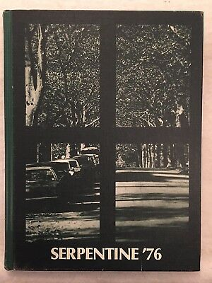 1976 West Chester State College University Pennsylvania PA Yearbook Annual