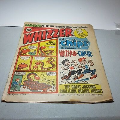 Whizzer and Chips - 20th Oct 1979 - UK Paper Comic