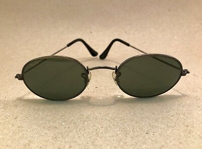 ​Vintage Ray Ban Classic Metals Oval W1283 bronze antique G-15 Bausch Lomb B&L