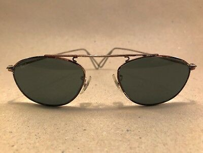 Vintage Ray Ban Modified Aviator XLT W2004 silver Bausch Lomb B&L USA Harley