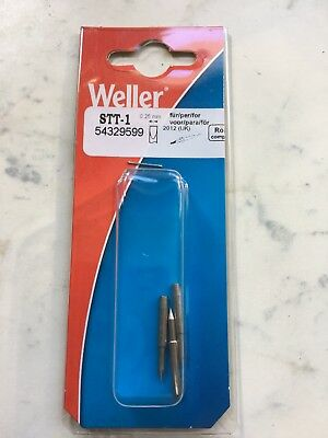 Weller Stt1 Micro Point Solder Tips Pkt Of 3