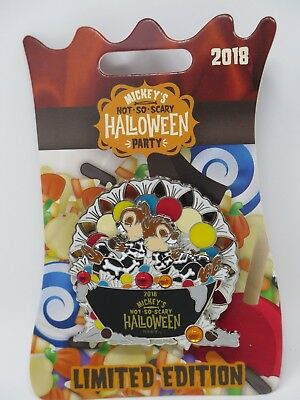 Mickeys Not so scary Halloween Party Pin LE Chip Dale WDW Disney Parks Spin