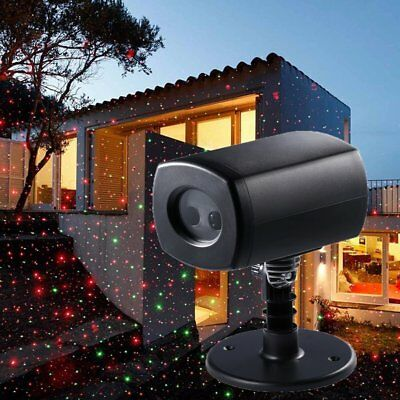 Christmas Laser Fairy Light Projection Star Laser Projector Light Decor R