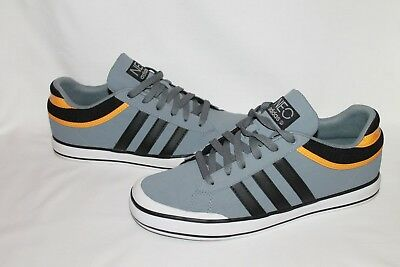 Adidas Neo Clemente Fresh Lo Mens Trainers - Size 9 - Yellow, Grey and Black