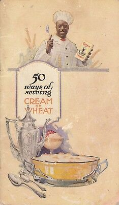 1924 Fifty Ways To Serve Cream of Wheat Softcover
