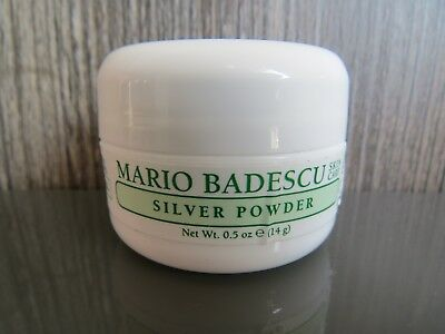New Mario Badescu Silver Powder - For All Skin Types 14g Travel Size