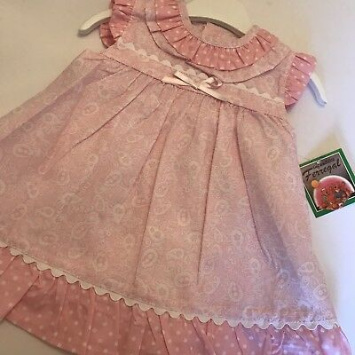 baby girls spanish Dress 12m