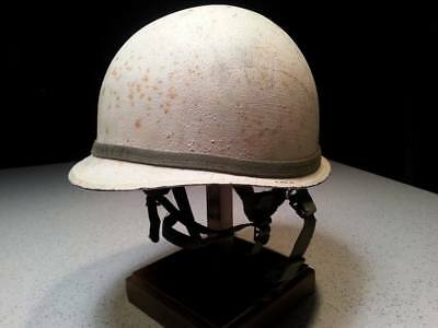 WWII US M1-C Jump helmet modified for Canadian Airborne Troops