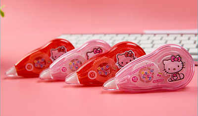 Pink Red Kitty Correction Tape random color