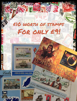 Low cost Isle of Man (Manx) Stamps / Postage