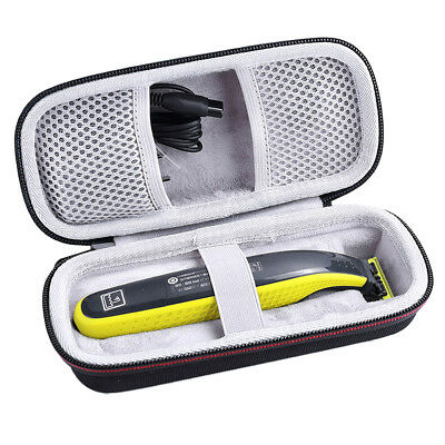 Hard Travel Case for Philips Norelco Oneblade QP6520/70 Pro Hybrid Electric Case