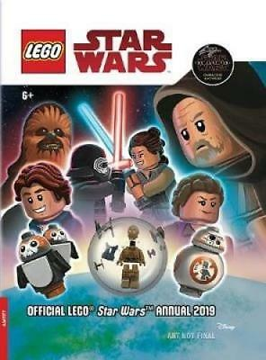 Official Lego Star Wars Annual 2019 with figurine