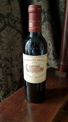 Chateau Margaux 2002, Grand Cru (Pavillon Rouge) 0,375l  selbst subskribiert TOP