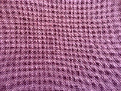Zweigart  / DMC 32 Count 100% Linen in Mulberry, 69 x 49cm approx