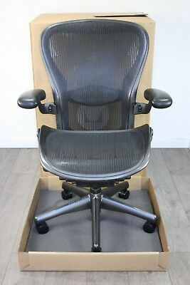UK & EU Delivery | Herman Miller Aeron Chair | Size C | NEW Lumbar Support