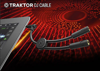 Native Instruments TRAKTOR DJ CABLE per Pc Mac iPod iPhone iPad Dj Sync NUOVO