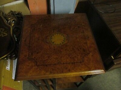 """Revolving Antique Bookcase Walnut with Inlay """"LOVELY PIECE"""""""