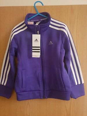 Adidas Kids Tracksuit Top Aged 5-6