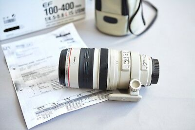 Canon EF 100-400 mm F/4.5-5.6 L IS USM Objektiv | Top - frisch vom Service!
