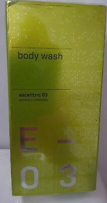 Escentric Molecules 03 Body Wash 200ml - Brand New And Sealed