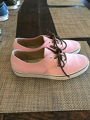 VANS AUTHENTIC CA Brushed Twill Pink mist size 11.5 -  12.99  a0b16cf249032