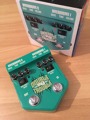 Visual Sound - Double Trouble (Effektpedal, Overdrive) *sehr guter Zustand*