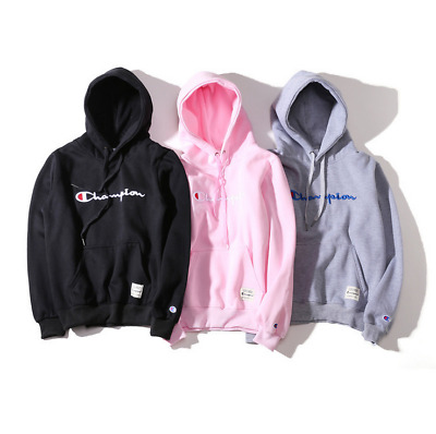 Men's & Women's Champion Hoodies Sweater Pullover Adults Sweatshirt Sport-Coat