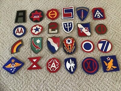 Ww2 Us Army Various Patches (24)