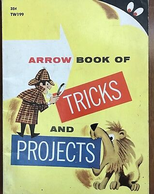 Rare Vintage Scholastic Books Magic Tricks And Projects