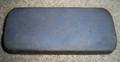 Vintage Black & Brown Layered Razor/Knife Sharpening Fine Stone / Hone/ Unmarked