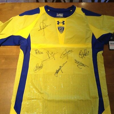 Clermont Auvergne French Rugby Signed Shirt BNWT Adult 3XLarge