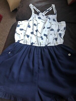Girls Playsuit - Age 9-10
