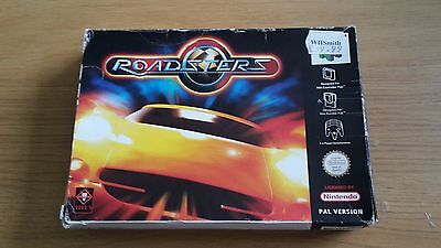 Roadsters - Nintendo 64 - N64 Game - Boxed with Manual