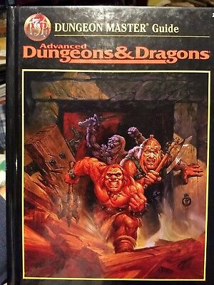 Advanced Dungeons and Dragons: The Dungeon Master's Guide by Zeb Cook