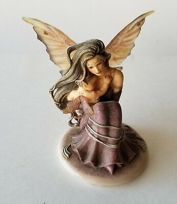 """The DRAGONSITE.com """"Innocence"""" Hand Crafted Fairy #JG50144 By Jessica GALBRETH"""