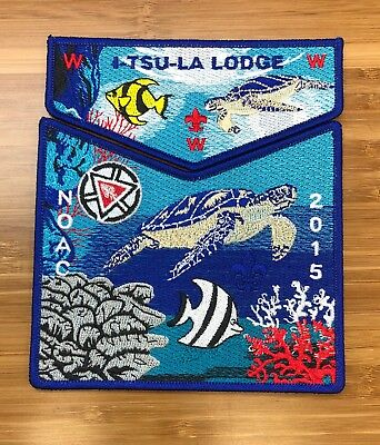 I-TSU-LA Lodge 99 Georgia 2015 NOAC Centennial Set 100th Anniversary 119 229