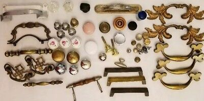 Assorted Lot Drawer Cabinet Pulls Knobs Handles