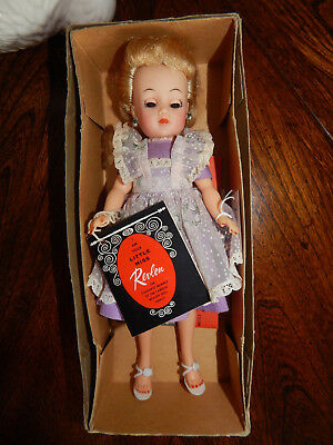 "IDEAL 101/2"" 1950s BLONDE LITTLE MISS REVLON TAGGED OUTFIT #9127 IN ORIGINAL BOX"