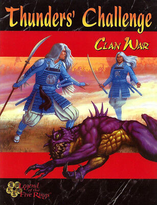 Legend of the Five Rings Clan War Thunders Challenge, AEG, Miniature Combat, RPG