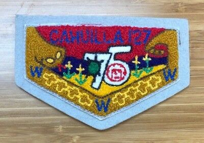 CAHUILLA 127 C6 75th Anniversary Inland Empire California 98 380 Chenille