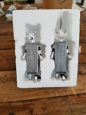 Miniature Twin Cowers for Cow Parade