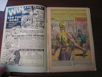 The Brave & The Bold #3 D.c. Comics 1956 Partial Cover Faux Cover Viking Prince!