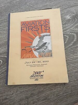 EAA Oshkosh AirVenture 2001 program aviation firsts