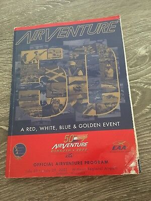50th anniversary Oshkosh EAA Airventure 2002 program