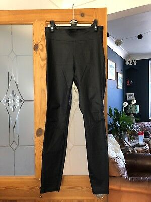 Leather Look Leggings Size 12