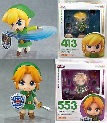New Nendoroid Link Wind Waker Majora's Mask 3D Figure Legend of Zelda Good Smile