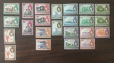 Tristan da Cunha # 14-27 Lot collection (multiples) MNH and MH