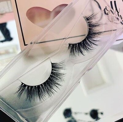 1d1aaa3777e Doll Beauty Lashes 3D Mink Brazilian Hair False Eyelashes Strip Lash  Anastasia